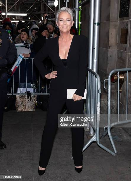 Actress Jamie Lee Curtis is seen arriving to the 2020 National Board Of Review Gala at Cipriani 42nd Street on January 08 2020 in New York City