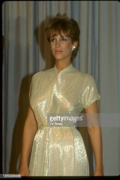 Actress Jamie Lee Curtis photographed at the 55th Academy Awards in Los Angeles, on April 11, 1983.