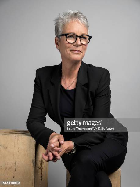 Actress Jamie Lee Curtis photographed for NY Daily News on April 20 in New York City