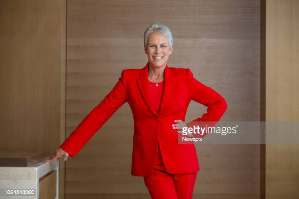 SYDNEY NSW Actress Jamie Lee Curtis poses during a photo shoot in Sydney New South Wales