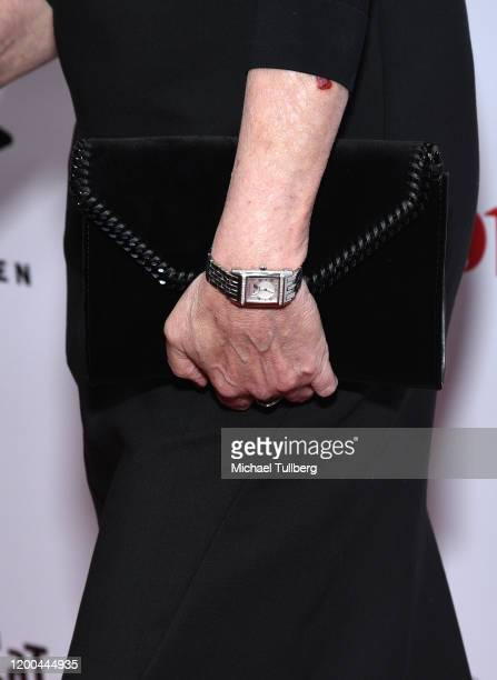 Actress Jamie Lee Curtis watch detail attends the Society of Camera Operators Lifetime Achievement Awards 2020 at Loews Hollywood Hotel on January 18...