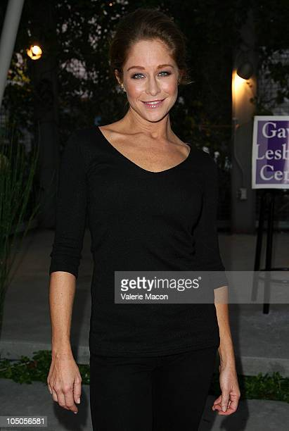 Actress Jamie Luner arrives at Kander Ebb's The World Goes 'Roundon October 7 2010 in Los Angeles California