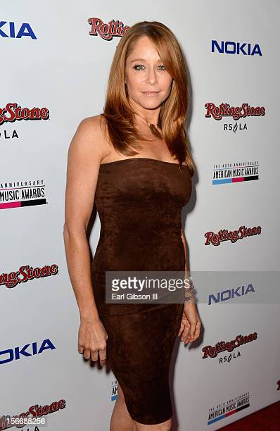 Actress Jamie Luner arrives at Rolling Stone Magazine Official 2012 American Music Awards VIP After Party presented by Nokia and Rdio at Rolling...