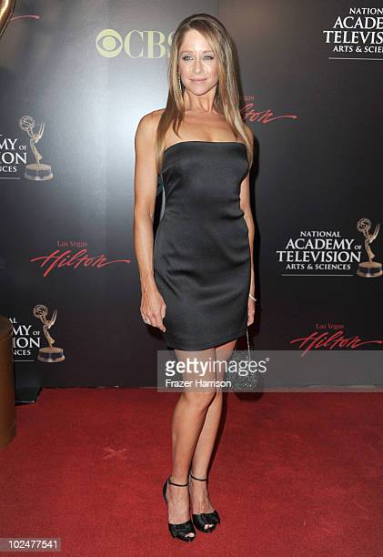 Actress Jamie Luner arrives at the 37th Annual Daytime Entertainment Emmy Awards held at the Las Vegas Hilton on June 27 2010 in Las Vegas Nevada