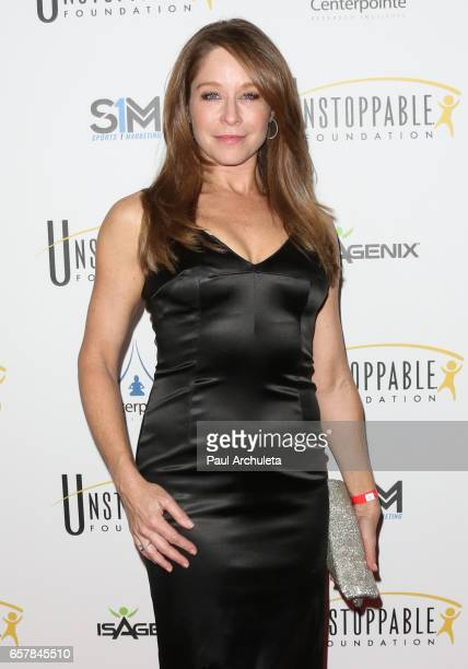 Actress Jamie Luner attends the 8th Annual Unstoppable Foundation Gala at The Beverly Hilton Hotel on March 25 2017 in Beverly Hills California