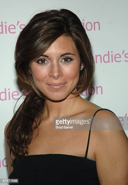Actress Jamie Lynn Sigler arrives at Candie's Foundation 3rd annual Event to Prevent benefit at Gotham Hall May 9 2006 in New York City