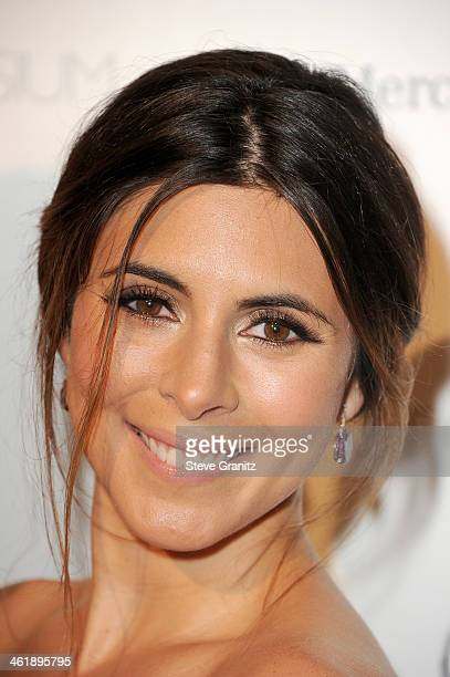 Actress Jamie Lynn Sigler arrives at The Art of Elysium's 7th Annual HEAVEN Gala presented by Mercedes-Benz at Skirball Cultural Center on January...