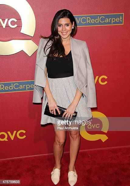 Actress Jamie Lynn Sigler attends the QVC 5th Annual Red Carpet Style event at The Four Seasons Hotel on February 28 2014 in Beverly Hills California