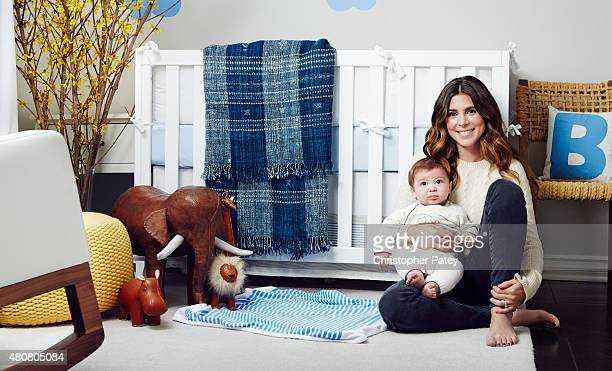 Actress Jamie Lynn Sigler is photographed for Domaine Home on March 14 2014 in Los Angeles California Published Image