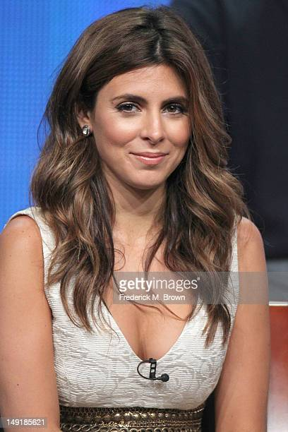 Actress Jamie Lynn Sigler speaks onstage at the 'Guys With Kids' panel during day 4 of the NBCUniversal portion of the 2012 Summer TCA Tour held at...