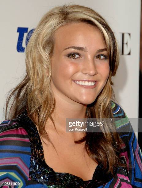Actress Jamie Lynn Spears arrives at the 'Teen Vogue Young Hollywood Party' at Vibiana on September 20 2007 in Los Angeles California