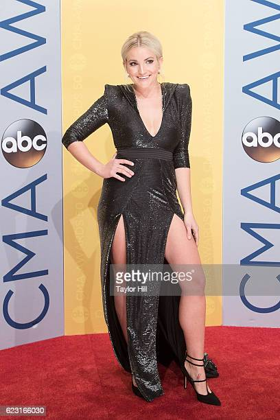 Actress Jamie Lynn Spears attends the 50th annual CMA Awards at the Bridgestone Arena on November 2 2016 in Nashville Tennessee