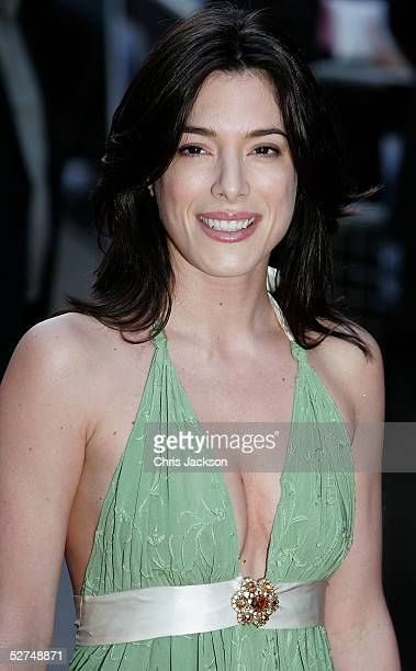 """Actress Jamie Murray arrives at the European premiere of """"Kingdom of Heaven"""" at the Empire Leicester Square on May 2, 2005 in London."""