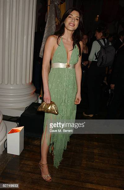 """Actress Jamie Murray attends the aftershow party following the European Premiere of """"Kingdom of Heaven"""", at the Whitehall Banqueting Hall on May 2,..."""