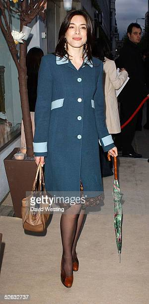 Actress Jamie Murray attends the party celebrating the opening of French designer brand Paul Joe's new London store at 134 Sloane Street on April 14...