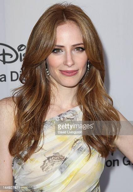 Actress Jamie Ray Newman attends Disney Media Networks International Upfronts at Walt Disney Studios on May 20 2012 in Burbank California