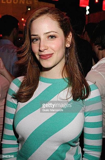 Actress Jamie Ray Newman attends the GQ Lounge Los Angeles Celebration of The Art Of Elysium afterparty at the GQ Lounge@The Forbidden City on April...