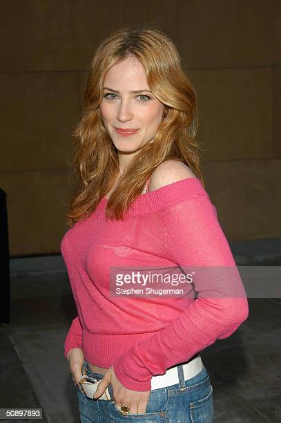 Actress Jamie Ray Newman attends the Los Angeles Premiere of Sony Pictures Classic BAADASSSSS on May 25 2004 at American Cinemateque at the Egyptian...