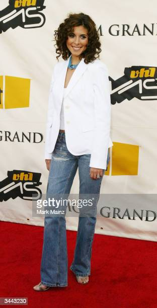 Actress JamieLynn DiScala attends the 7th Annual VH1 Divas Concert Benefiting The Save The Music Foundation at the MGM Grand Garden Arena April 18...