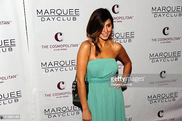 Actress JamieLynn Sigier arrives for the grand opening of Marquee Day Club at The Cosmopolitan Las Vegas on April 9 2011 in Las Vegas Nevada