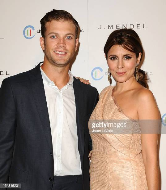 Actress Jamie-Lynn Sigler and Cutter Dykstra attend the 3rd annual Autumn Party at The London West Hollywood on October 17, 2012 in West Hollywood,...