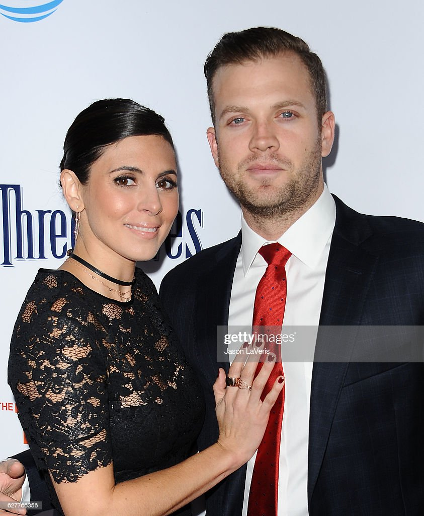 Actress Jamie-Lynn Sigler and husband Cutter Dykstra attend the TrevorLIVE Los Angeles 2016 fundraiser at The Beverly Hilton Hotel on December 4, 2016 in Beverly Hills, California.