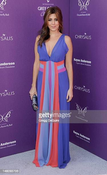 Actress JamieLynn Sigler arrives at the 11th Annual Chrysalis Butterfly Ball on June 9 2012 in Brentwood California