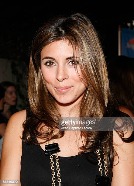 Actress JamieLynn Sigler attends attends the Scrabble Under The Stars to Benefit St Jude Children Hospital on June 12 2008 at The Goldstein Estate in...
