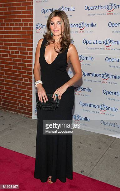 """Actress Jamie-Lynn Sigler attends Operation Smile's 5th Annual """"Smile"""" Gala at Skkylight Studio in New York City on May 15, 2008"""