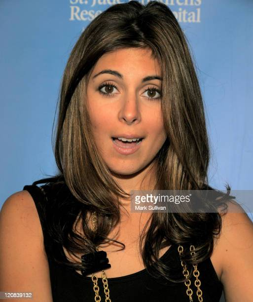 Actress JamieLynn Sigler attends Scrabble Under The Stars to Benefit St Jude Children's Hospital on June 12 2008 at The Goldstein Estate in Beverly...