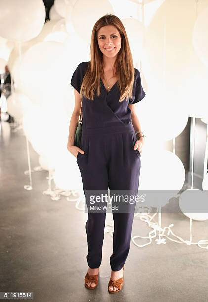 Actress JamieLynn Sigler attends smartwater sparkling celebrates Jennifer Aniston and St Jude's Children's Hospital at W Hollywood on February 23...