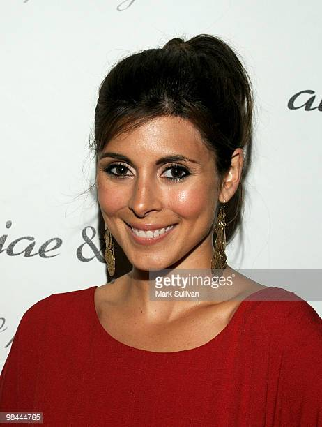Actress JamieLynn Sigler attends the Alexx Jae And Milk FW10 Collection launch party at Milk Boutique on April 13 2010 in Los Angeles California