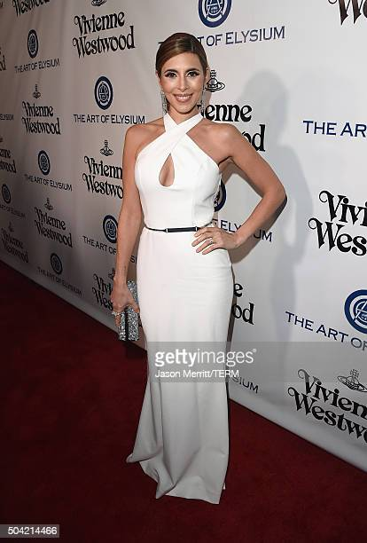 Actress JamieLynn Sigler attends The Art of Elysium 2016 HEAVEN Gala presented by Vivienne Westwood Andreas Kronthaler at 3LABS on January 9 2016 in...