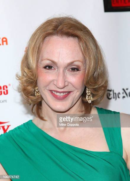 Actress Jan Maxwell arrives at the 55th Annual Drama Desk Awards at the FH LaGuardia Concert Hall at Lincoln Center on May 23 2010 in New York City