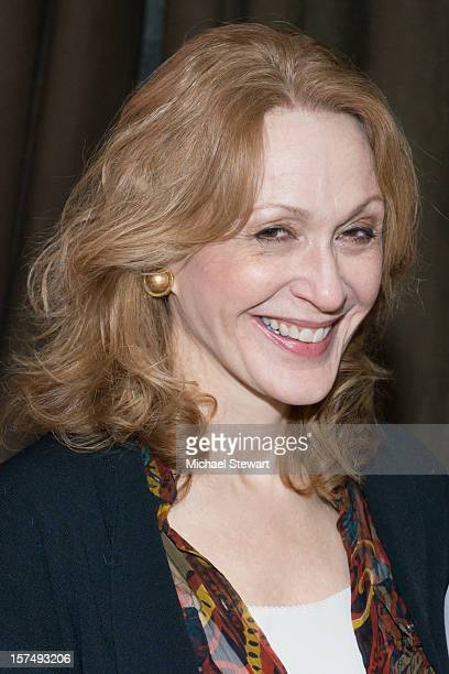 Actress Jan Maxwell attends the after party for the 25th anniversary celebrity stage reading of Steel Magnolias at Veranda on December 3 2012 in New...