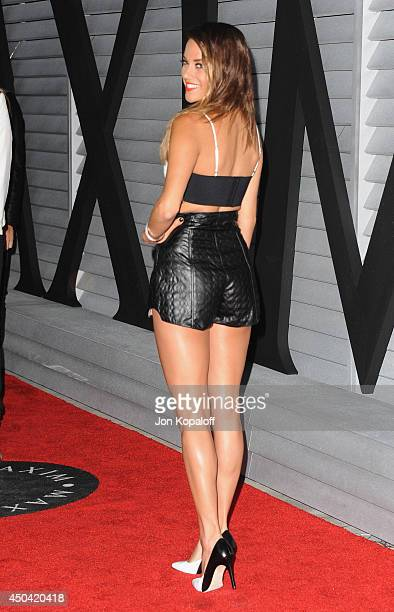Actress Jana Kramer arrives at the MAXIM Hot 100 Celebration Event at Pacific Design Center on June 10 2014 in West Hollywood California