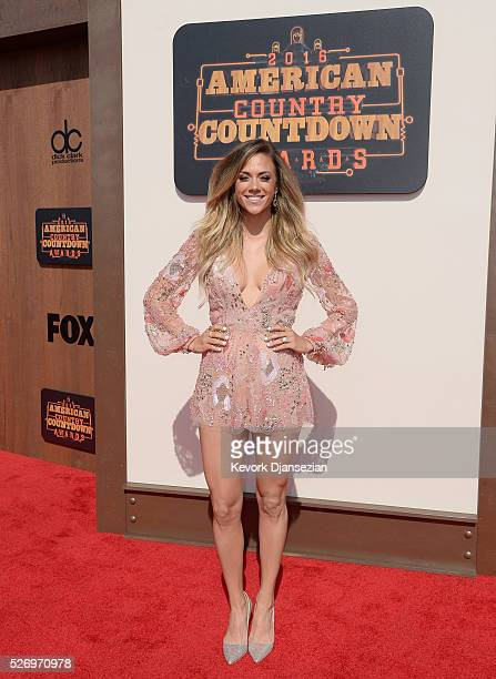 Actress Jana Kramer attends the 2016 American Country Countdown Awards at The Forum on May 1 2016 in Inglewood California