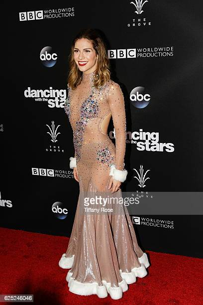 Actress Jana Kramer attends the 'Dancing With The Stars' live finale at The Grove on November 22 2016 in Los Angeles California