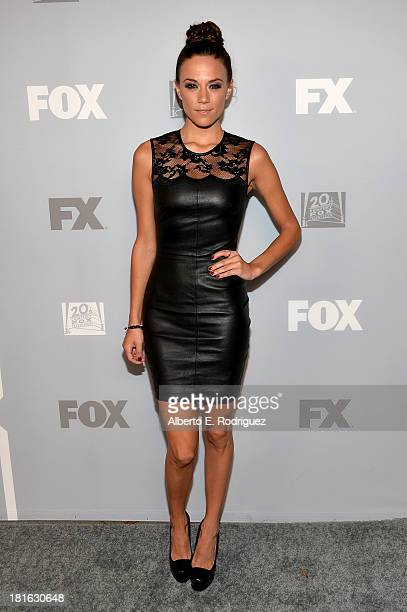 Actress Jana Kramer attends the FOX Broadcasting Company Twentieth Century FOX Television and FX Post Emmy Party at Soleto on September 22 2013 in...