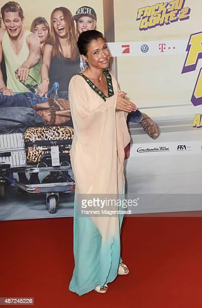 Actress Jana Pallaske attends the 'Fack ju Goehte 2' Munich Premiere at Mathaeser Filmpalast on September 7 2015 in Munich Germany