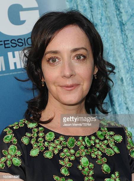 Actress Jane Adams arrives at HBO's 'Hung' Season 2 premiere at Paramount Theater on the Paramount Studios lot on June 23 2010 in Hollywood California