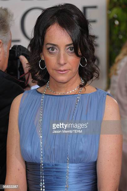 Actress Jane Adams arrives at the 67th Annual Golden Globe Awards held at The Beverly Hilton Hotel on January 17 2010 in Beverly Hills California