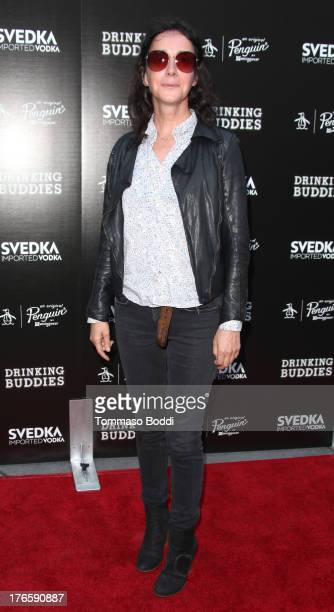 Actress Jane Adams attends the 'Drinking Buddies' Los Angeles premiere held at ArcLight Hollywood on August 15 2013 in Hollywood California