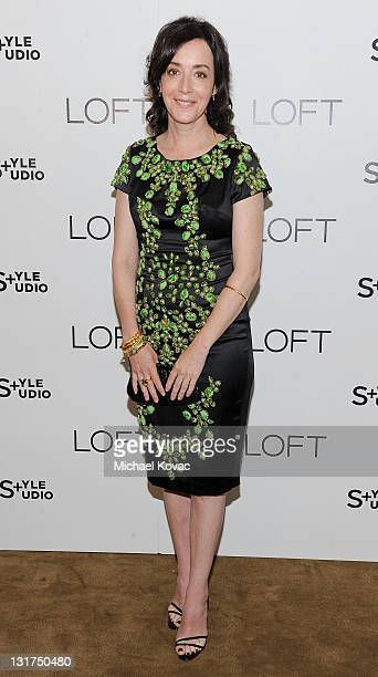 Actress Jane Adams attends the LOFT Fall 2010 Style Studio Press Preview and Cocktail Party at Chateau Marmont on June 23 2010 in Los Angeles...