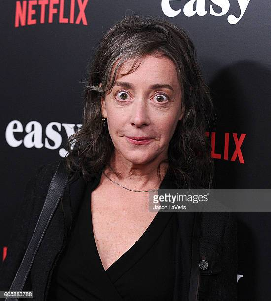Actress Jane Adams attends the premiere of 'Easy' at The London Hotel on September 14 2016 in West Hollywood California