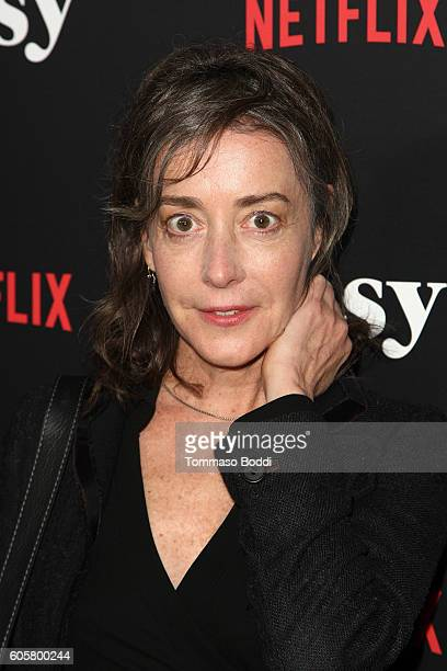 Actress Jane Adams attends the premiere of Netflix's 'Easy' at The London Hotel on September 14 2016 in West Hollywood California