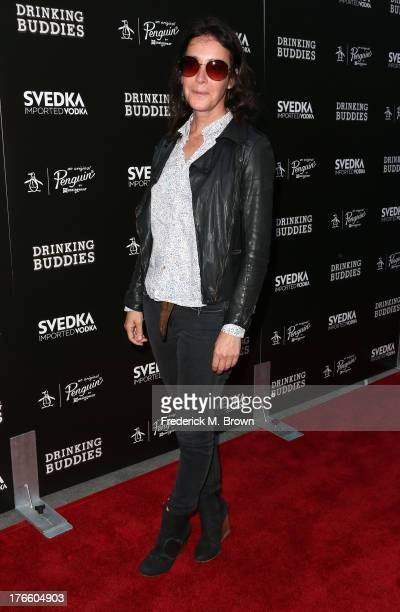 Actress Jane Adams attends the screening of Magnolia Pictures' 'Drinking Buddies' at the ArcLight Cinemas on August 15 2013 in Hollywood California