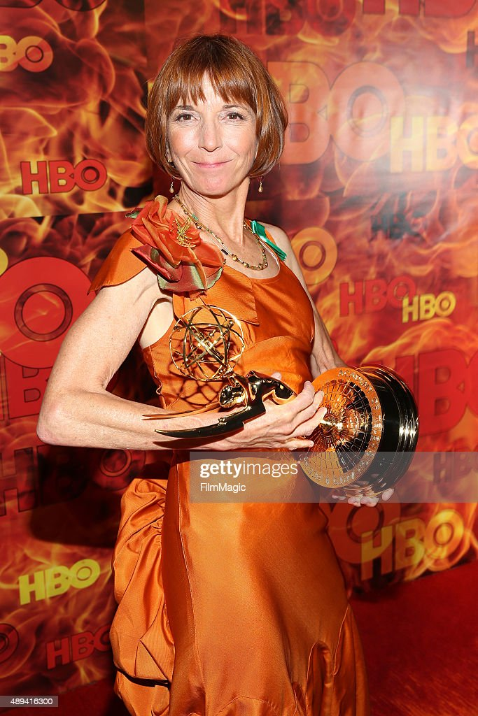 Actress Jane Anderson attends HBO's Official 2015 Emmy After Party at The Plaza at the Pacific Design Center on September 20, 2015 in Los Angeles, California.