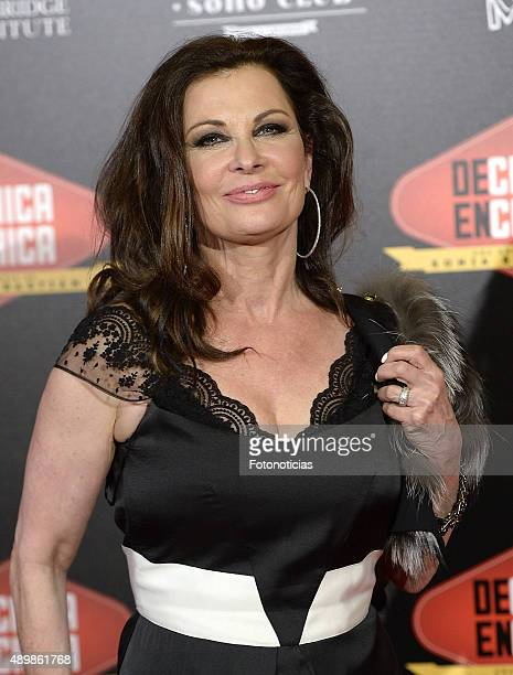 Actress Jane Badler attends the 'De Chica en Chica' Premiere at Palafox Cinema on September 24 2015 in Madrid Spain