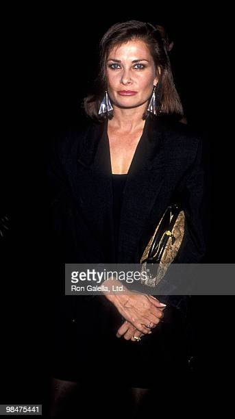 Actress Jane Badler attends the premiere party for Poetry In Motion on June 25 1989 at the Comedy Store in Hollywood California